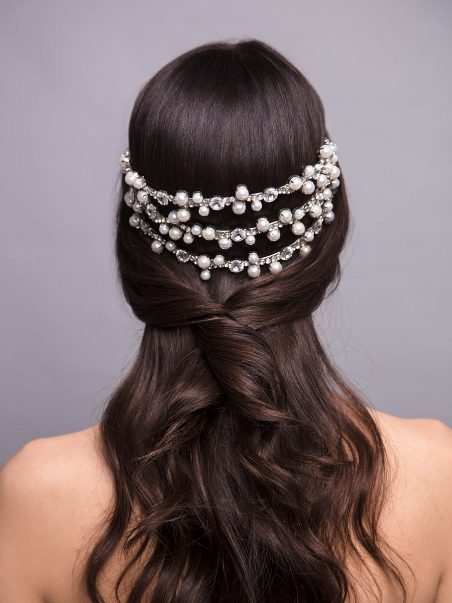 Something White | 4 | Silver Headpiece