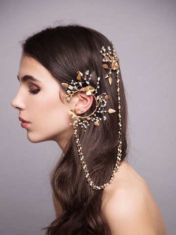 Through The Grapevine | 2 | Bronze Ear Cuff