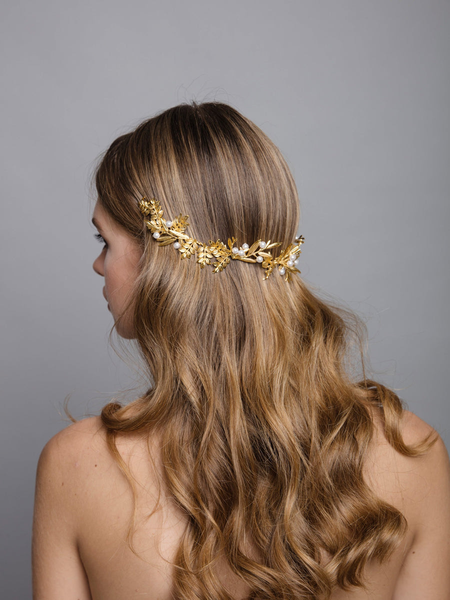 Under The Olive Tree | 6 | Gold Headpiece