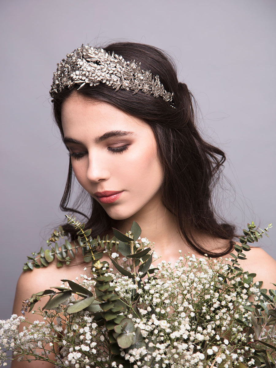 Under The Olive Tree | 2 | Silver Headpiece