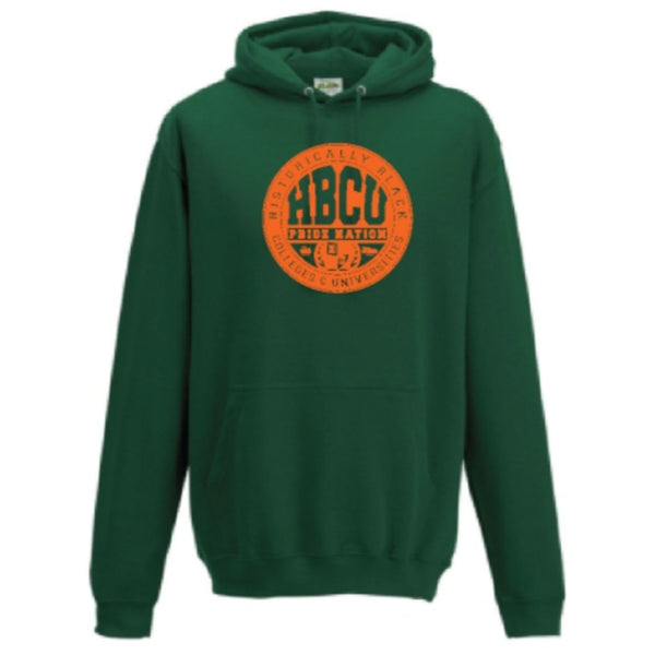 HPN Classic Logo Hoodie (Forest Green/Orange)