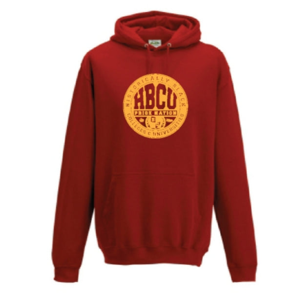 HPN Classic Logo Hoodie (Red/Gold)