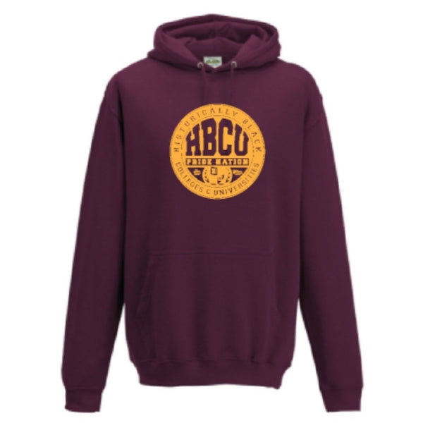 HPN Classic Logo Hoodie (Maroon/Gold)