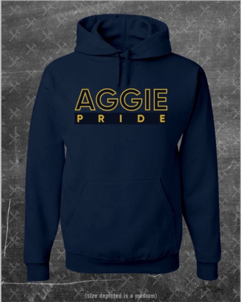 """Celebration"" Aggie Pride Hoodie (Embroidered)"