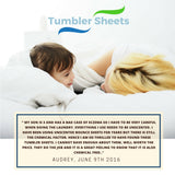 Tumbler Sheets, Chemical Free Dryer Sheets Reusable for Over 500 Loads, Anti-Static Hypo-allergenic, Gentle on Clothes and Skin