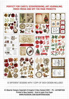 Ephemera Fussy Cutting Pack - Christmas Morning - Released Sept 1st