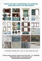 Ephemera Fussy Cutting Pack - Doors and Windows - Released Sept 1st