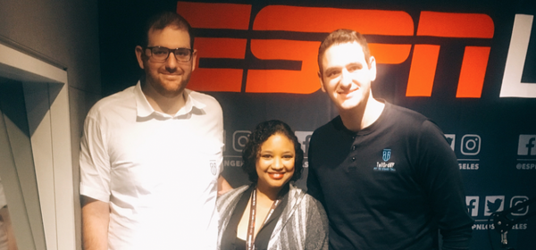 ESPN LA'S THE EXPERIENCE RADIO SHOW WITH LAFERN CUSACK