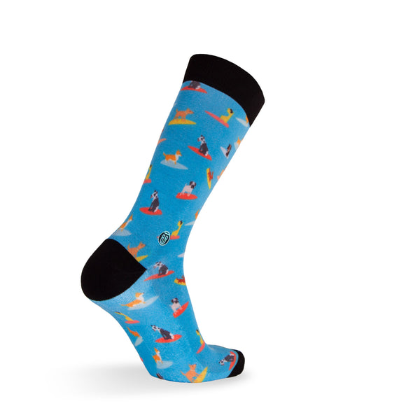 Surf Dog - Extra Cushioned - Dress Socks