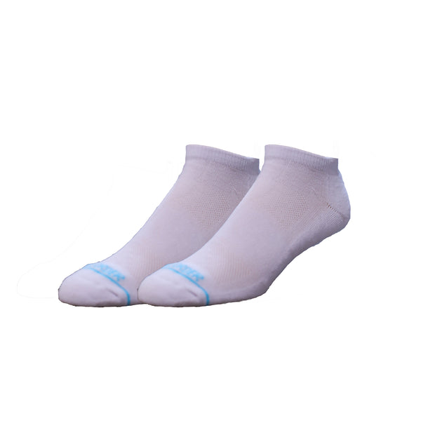 Solid White Two Pack - Extra Cushioned Ankle Socks