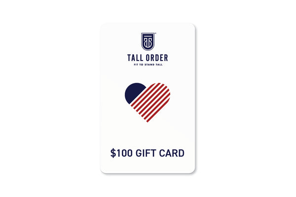 Tall Order $100 Gift Card