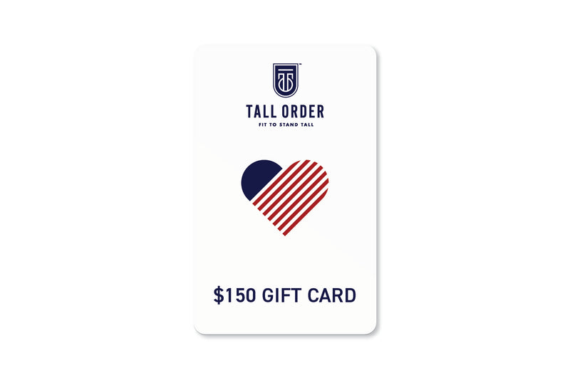 Tall Order $150 Gift Card