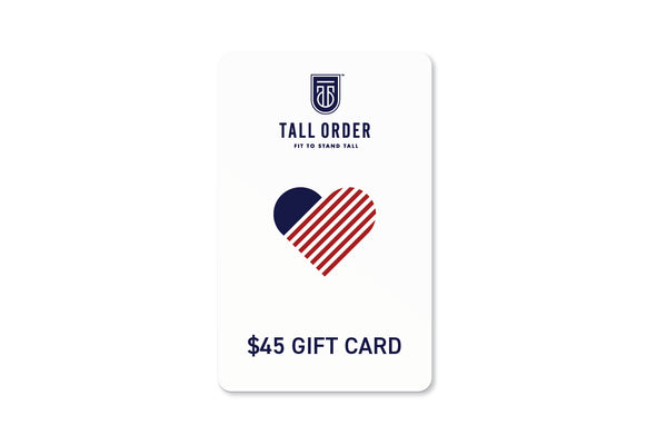 Tall Order $45 Gift Card