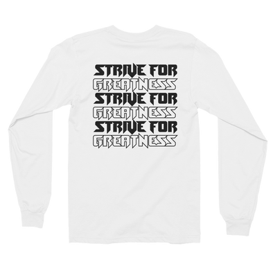 Strive Repeat Shirt (White)