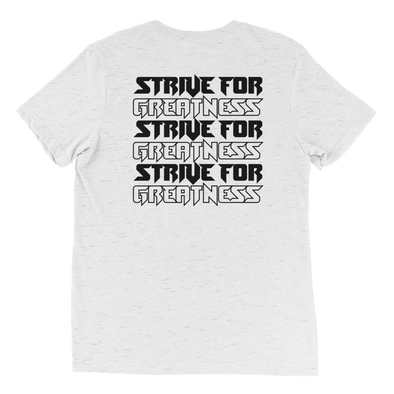 Strive Repeat Shirt (White Fleck)