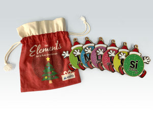 Christmas Ornaments (set of 6)
