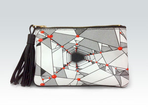 Crystallography Clutch Purse