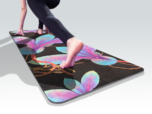 Power of plants yoga mat