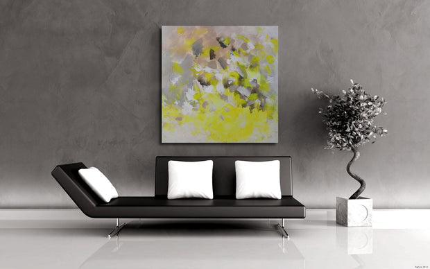 Visible by Preethi Arts- 36x36 - Original Contemporary Modern Abstract Paintings by Preethi Arts