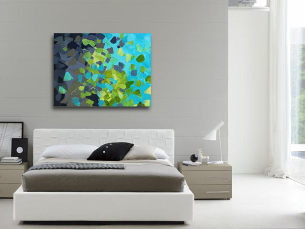 Abundance by Preethi Arts- 30x40 - Original Contemporary Modern Abstract Paintings by Preethi Arts