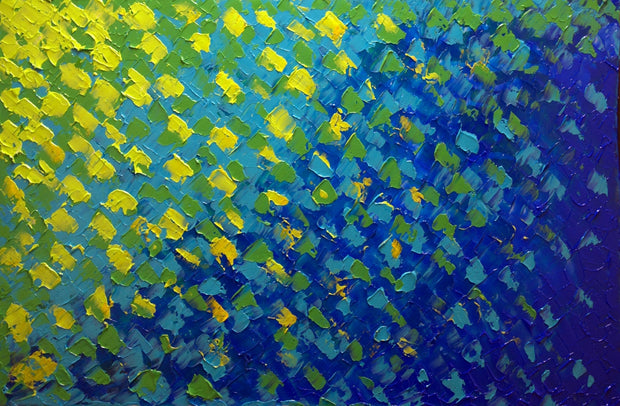 Across the sky by Preethi Arts- 36x24 - Original Contemporary Modern Abstract Paintings by Preethi Arts