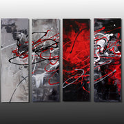 Algorithm by Preethi Arts- 36x48 - Original Contemporary Modern Abstract Paintings by Preethi Arts