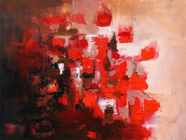Dazzle by Preethi Arts- 30x40 - Original Contemporary Modern Abstract Paintings by Preethi Arts