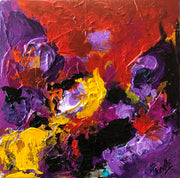 Divine 3 by Preethi Arts- 6x6 - Original Contemporary Modern Abstract Paintings by Preethi Arts