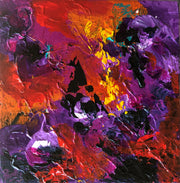 Divine 4 by Preethi Arts- 6x6 - Original Contemporary Modern Abstract Paintings by Preethi Arts