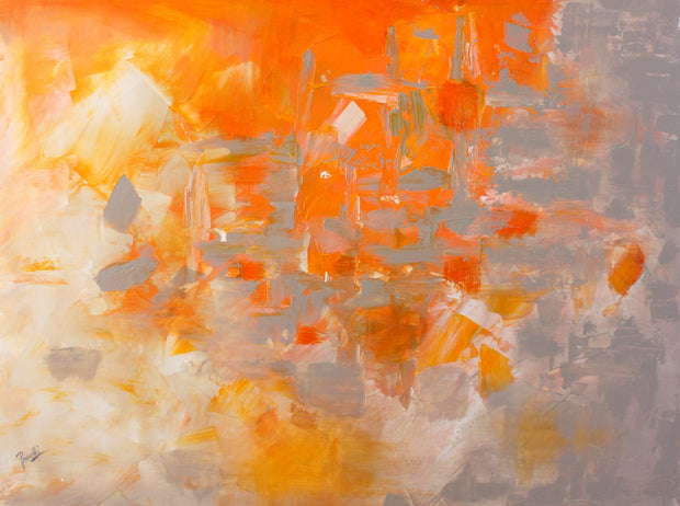 Explode by Preethi Arts- 30x40 - Original Contemporary Modern Abstract Paintings by Preethi Arts