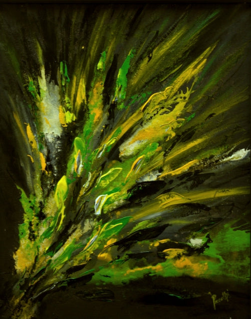 Forever by Preethi Arts- 24x18 - Original Contemporary Modern Abstract Paintings by Preethi Arts