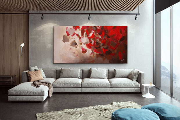 Victory 2 by Preethi Arts- 30x24 - Original Contemporary Modern Abstract Paintings by Preethi Arts