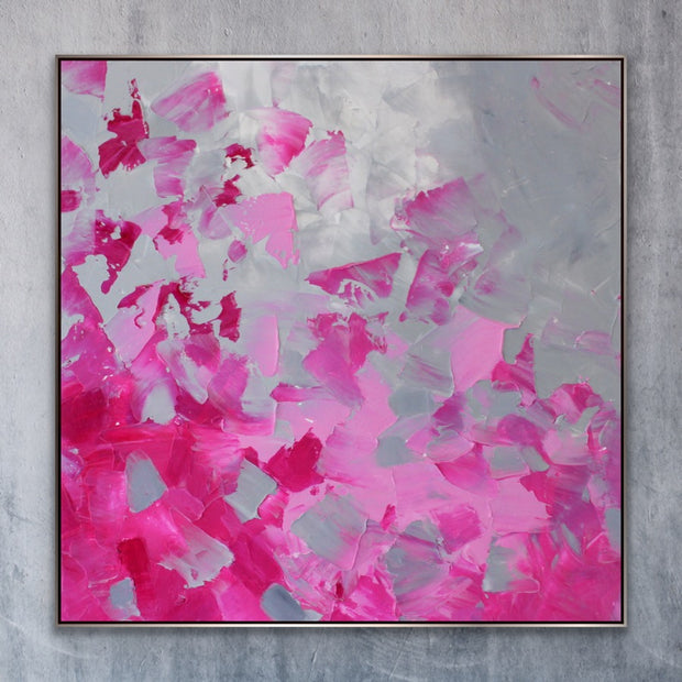Trust 2 by Preethi Arts- 6x6 - Original Contemporary Modern Abstract Paintings by Preethi Arts