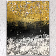 Hope 2 by Preethi Arts- 6x6 - Original Contemporary Modern Abstract Paintings by Preethi Arts