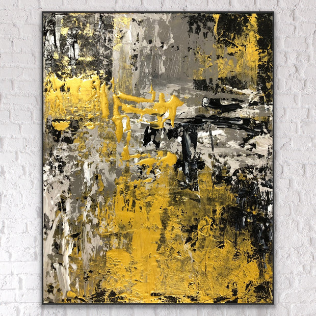 Forever 7 by Preethi Arts- 6x6 - Original Contemporary Modern Abstract Paintings by Preethi Arts