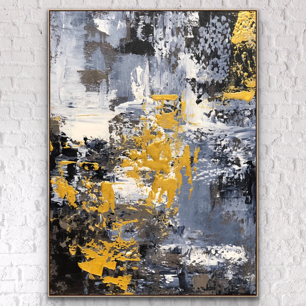 Passion 1 by Preethi Arts- 6x6 - Original Contemporary Modern Abstract Paintings by Preethi Arts