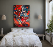Opulence by Preethi Arts- 36x48 - Original Contemporary Modern Abstract Paintings by Preethi Arts