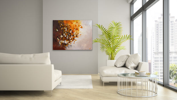 Glitter by Preethi Arts- 30x40 - Original Contemporary Modern Abstract Paintings by Preethi Arts