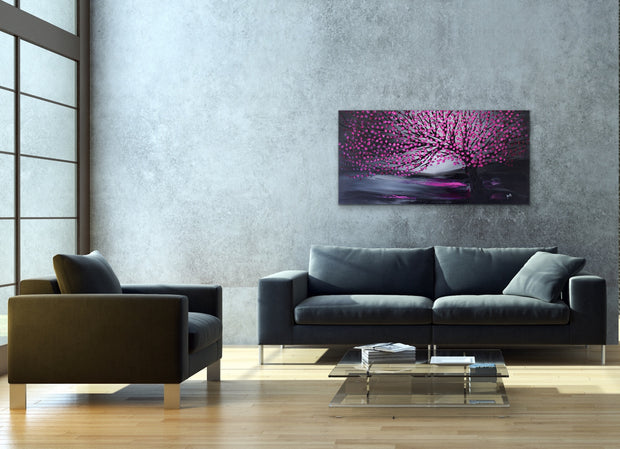 Purity by Preethi Arts- 24x48 - Original Contemporary Modern Abstract Paintings by Preethi Arts