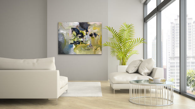 Sensual by Preethi Arts- 30x40 - Original Contemporary Modern Abstract Paintings by Preethi Arts