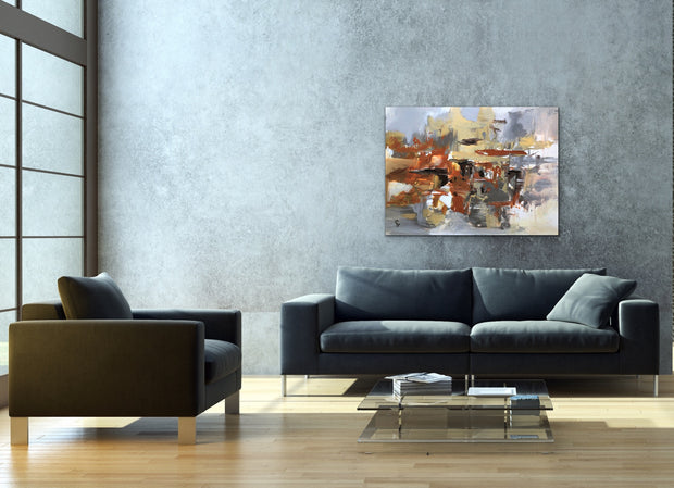 Clueless by Preethi Arts- 30x40 - Original Contemporary Modern Abstract Paintings by Preethi Arts