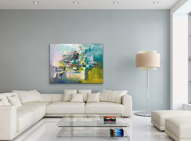 Innovation by Preethi Arts- 30x40 - Original Contemporary Modern Abstract Paintings by Preethi Arts