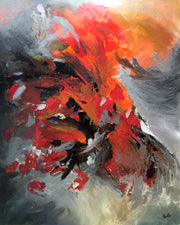 Incredible by Preethi Arts- 60x48 - Original Contemporary Modern Abstract Paintings by Preethi Arts