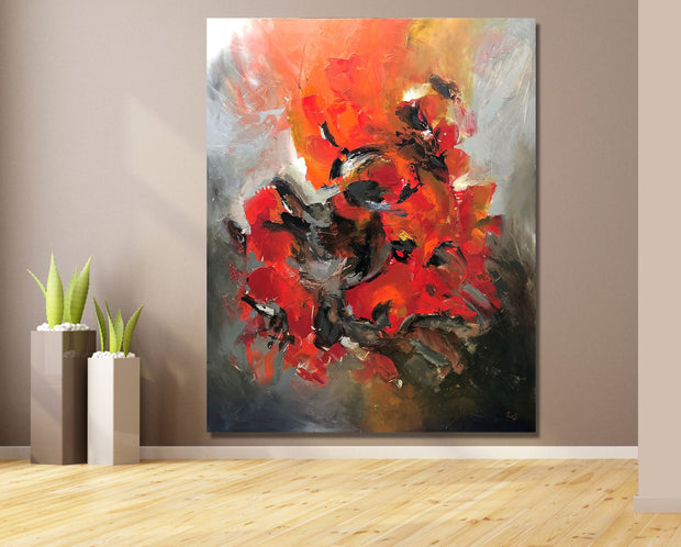 Marvelous by Preethi Arts- 60x48 - Original Contemporary Modern Abstract Paintings by Preethi Arts