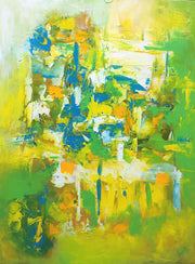 Mesmeric 3 by Preethi Arts- 30x40 - Original Contemporary Modern Abstract Paintings by Preethi Arts
