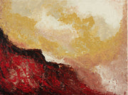 Molten lava by Preethi Arts- 24x18 - Original Contemporary Modern Abstract Paintings by Preethi Arts