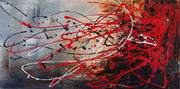 Outstanding by Preethi Arts- 24x48 - Original Contemporary Modern Abstract Paintings by Preethi Arts