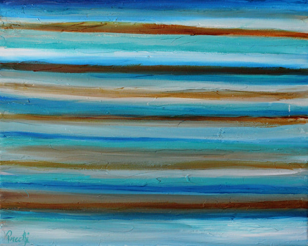 Outstretch 1 by Preethi Arts- 20x16 - Original Contemporary Modern Abstract Paintings by Preethi Arts