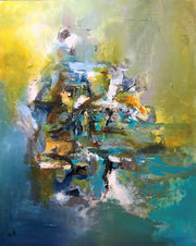 Phenomenal by Preethi Arts- 60x48 - Original Contemporary Modern Abstract Paintings by Preethi Arts