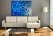 Blissful by Preethi Arts- 30x40 - Original Contemporary Modern Abstract Paintings by Preethi Arts